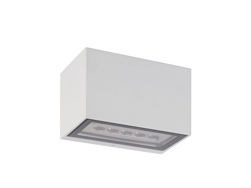LED direct-indirect light Outdoor wall lamp Geko 6.1 by L&L Luce&Light
