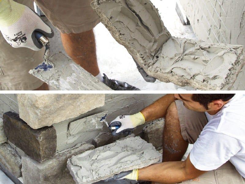 Cement-based glue Geocoll® by GEOPIETRA®
