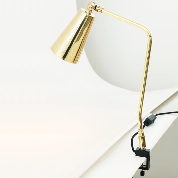 Handmade Adjustable Desk Lamp GEORGETOWN INDUSTRIAL CLAMP TABLE LAMP By  Mullan Lighting
