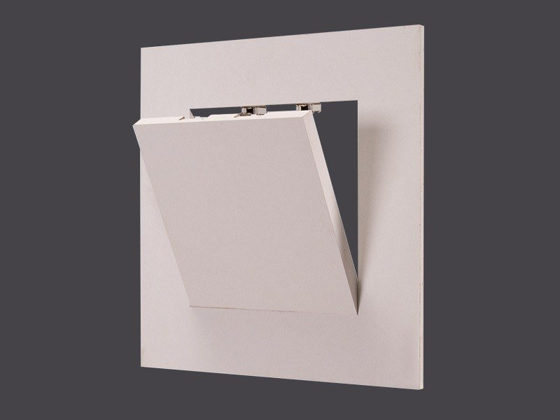 Hatch doors in Plasterboard for false ceilings and doors GHOST HATCH DOORS WITH CLICK OPENING180° by Gyps