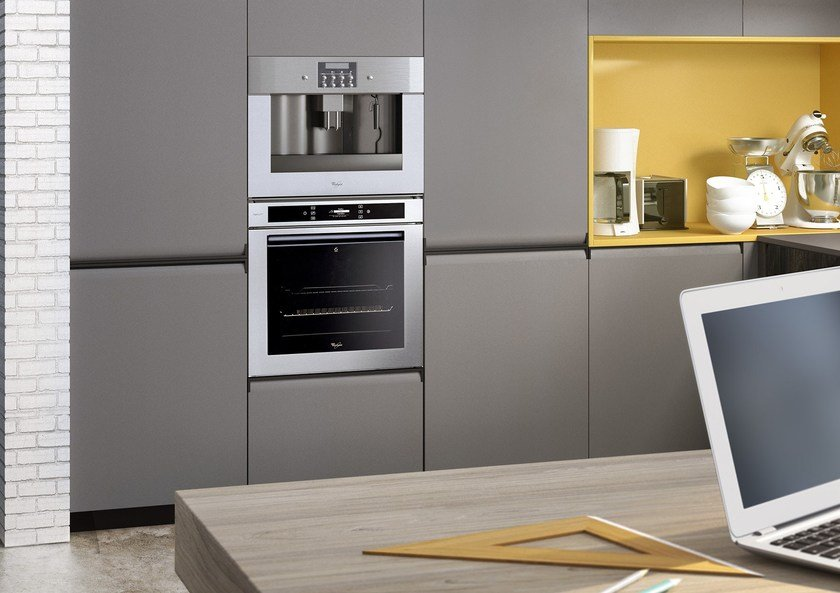 GIBILTERRA | Kitchen with integrated handles By Del Tongo design ...