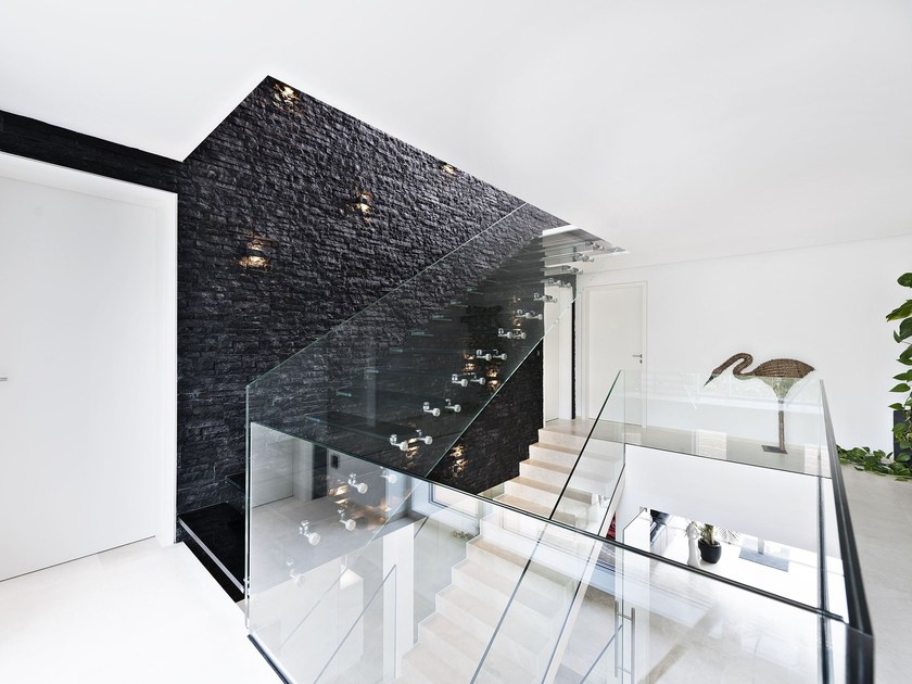 Straight Glass Cantilevered Staircase Glass Cantilevered Staircase By  Siller Treppen