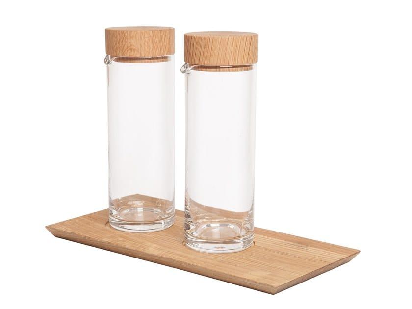 Glass oil vinegar set Glass oil vinegar set by designimdorf