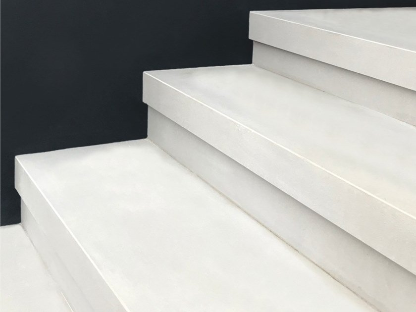 Porcelain stoneware staircase cladding Staircase cladding by Cover App