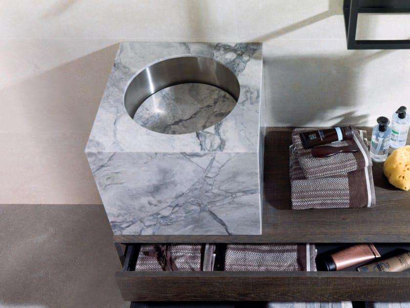 Countertop granite washbasin Granite washbasin by GAMADECOR