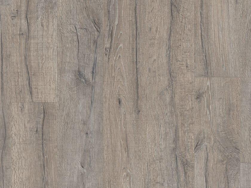 Vinyl Flooring With Wood Effect Grey Heritage Oak Classic Plank