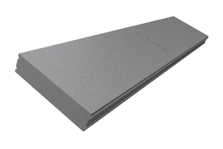Graphite-enhanced EPS thermal insulation panel Greydur® Top XL by Termolan Lape