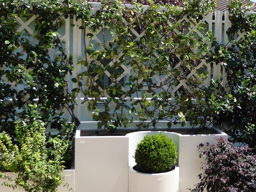 Griglia per verde verticale in metallo TRELLIS by BLOSS