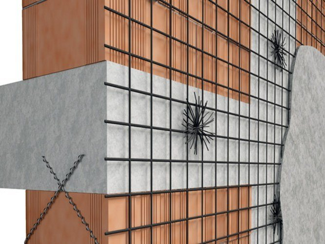 Reinforcing mesh H-PLANET by Fibre Net
