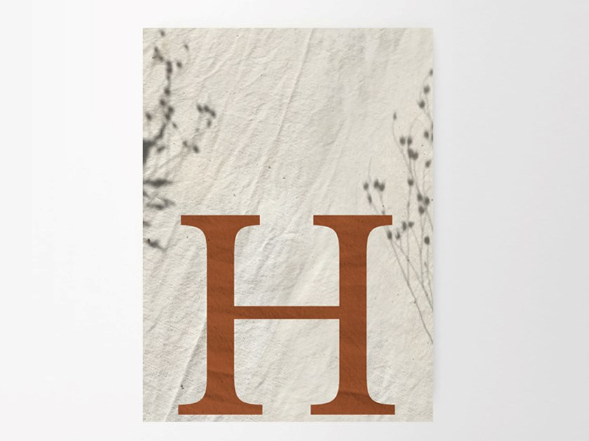 Stampa su carta H SHADES by Sesehtypo