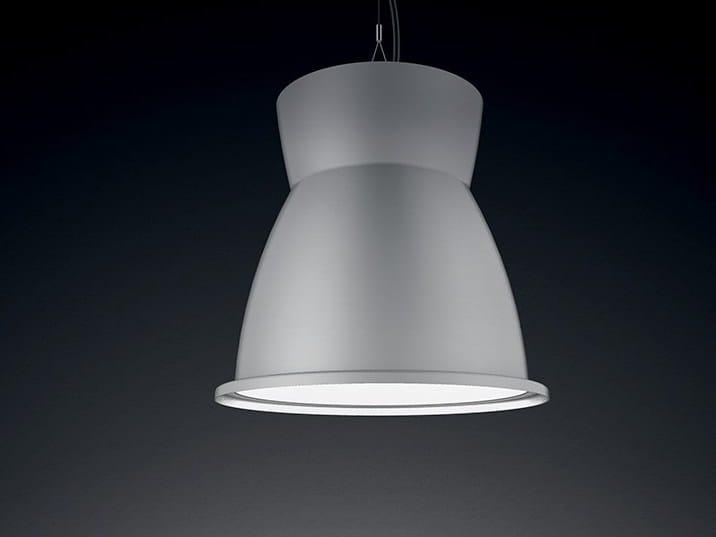 Lampada a sospensione / riflettore industriale in alluminio pressofuso H1 | Lampada a sospensione by LANZINI