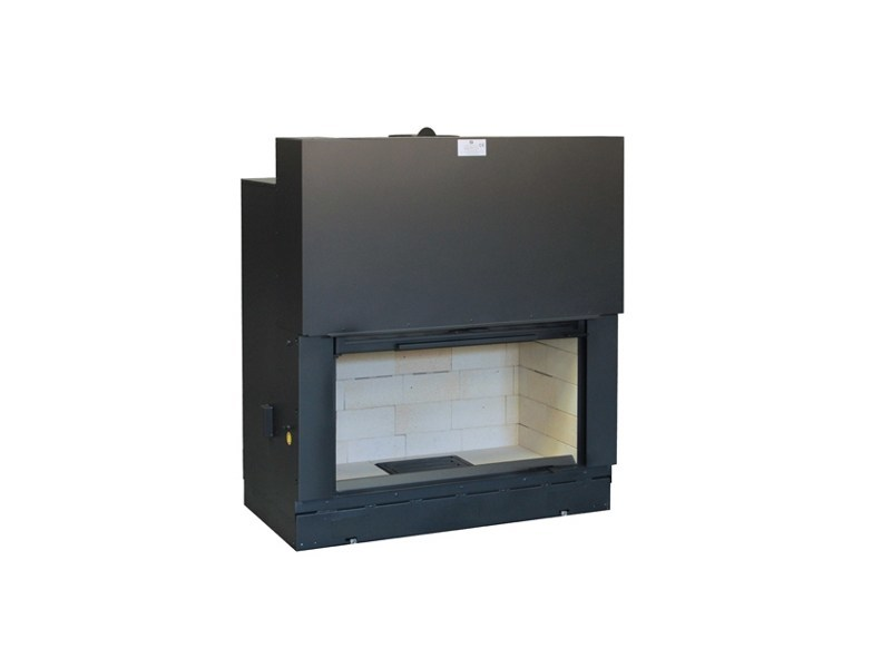 Wood-burning Fireplace insert H1200 by Axis