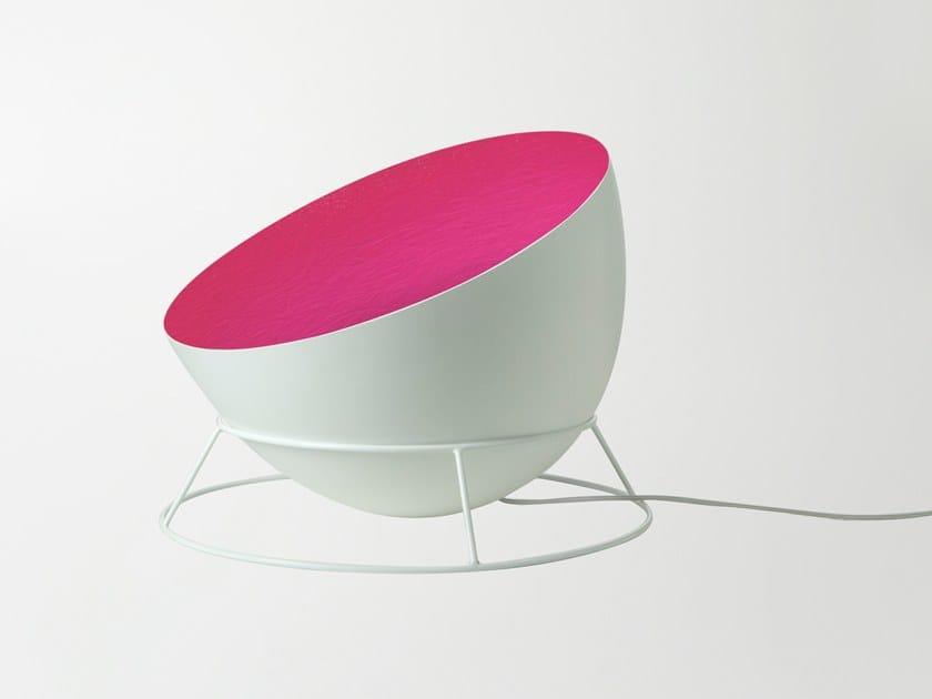 Metal floor lamp H2O F by In-es.artdesign