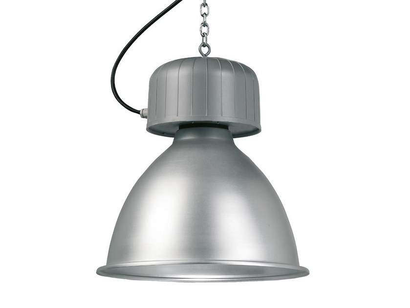 Die cast aluminium pendant lamp HABANA IP23 by LANZINI
