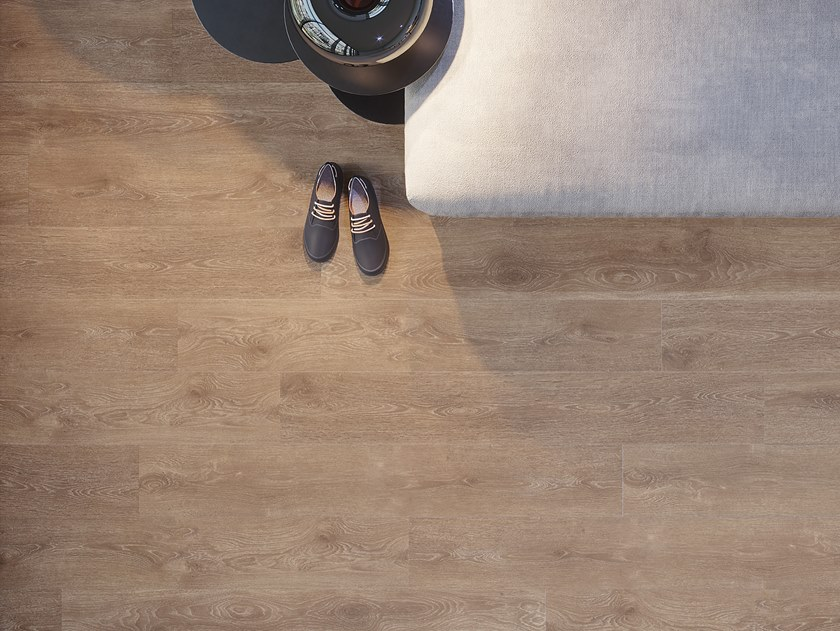 Laminate flooring with wood effect HABITAT by L'ANTIC COLONIAL