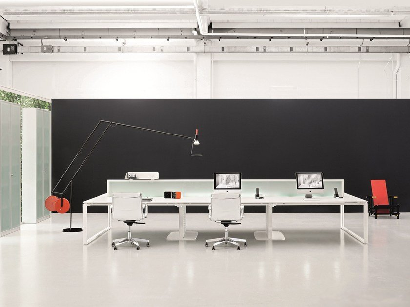 Multiple office workstation HADIS.PEOPLE by Archiutti