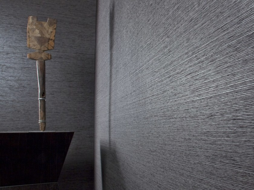 Contemporary style fire retardant paper wallpaper HAIKU PLAIN I by Omexco