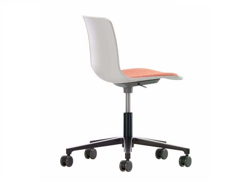 Swivel polypropylene task chair HAL STUDIO by Vitra
