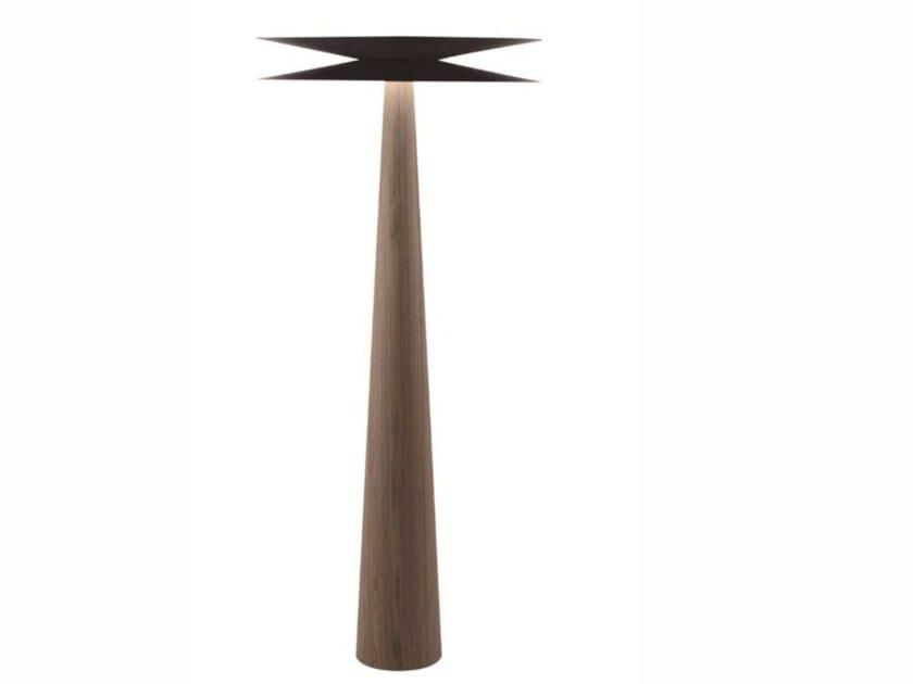 Lampada da terra a LED a luce diretta e indiretta HALF & HALF | Lampada da terra by ROCHE BOBOIS