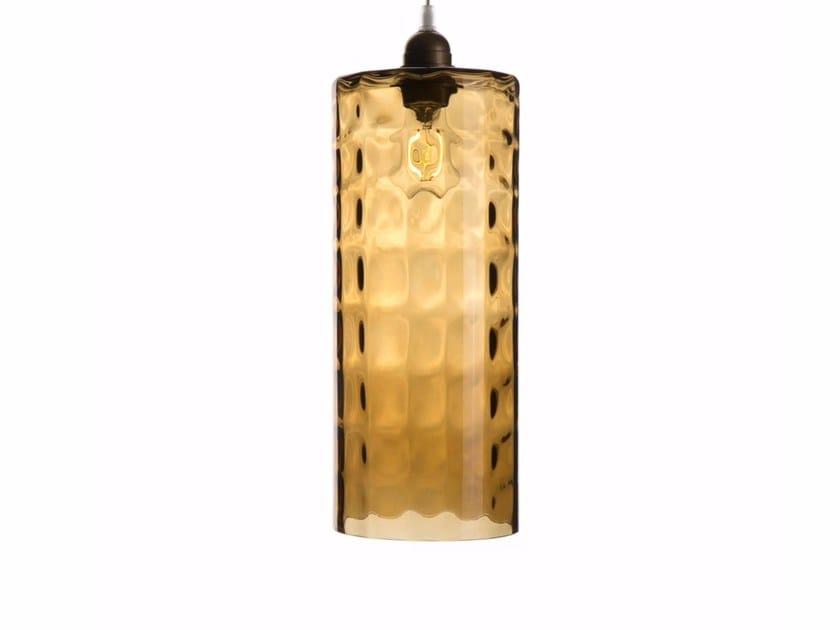 Lampada a sospensione in vetro soffiato HALIFAX by Hamilton Conte Paris