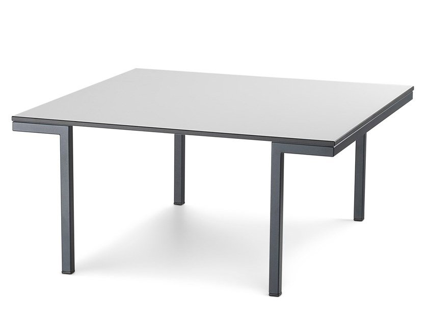 Square HPL coffee table HALL   Square coffee table by Diemme