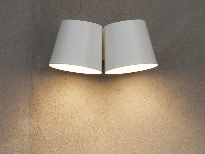 LED direct light wall lamp HALLEY by Chaarme