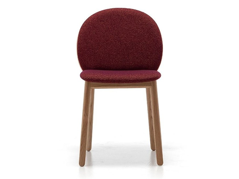 Fabric chair HALO 01 by Very Wood
