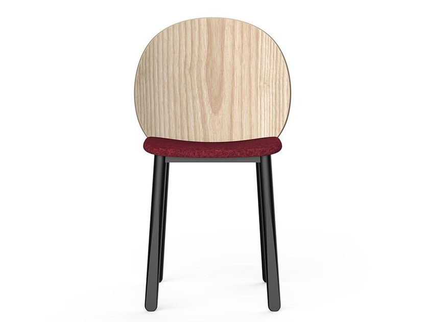 Wooden chair HALO 11 by Very Wood