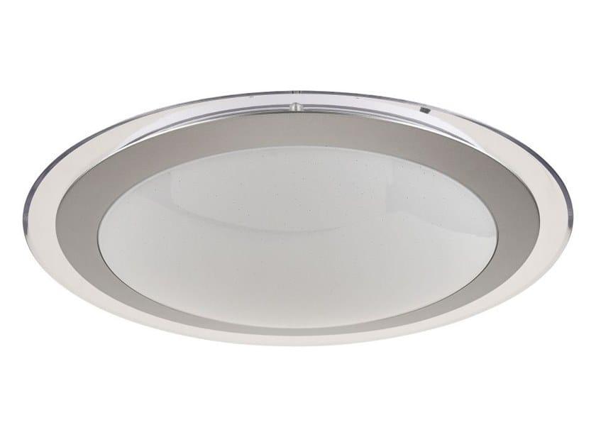 LED acrylic glass ceiling light HALO by MAYTONI