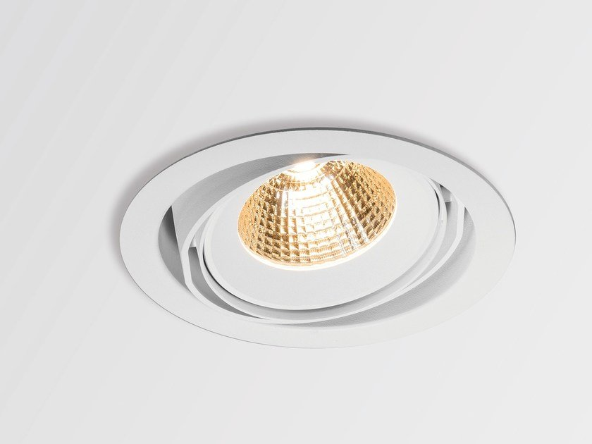 LED round recessed spotlight HALOSCAN by Modular Lighting Instruments
