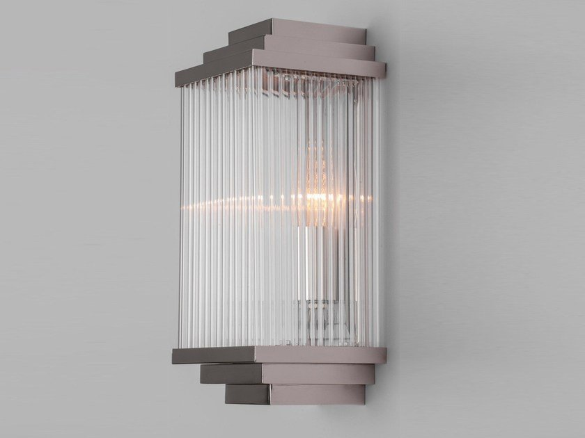 Nickel wall lamp HAMBURG | Wall lamp by Patinas Lighting