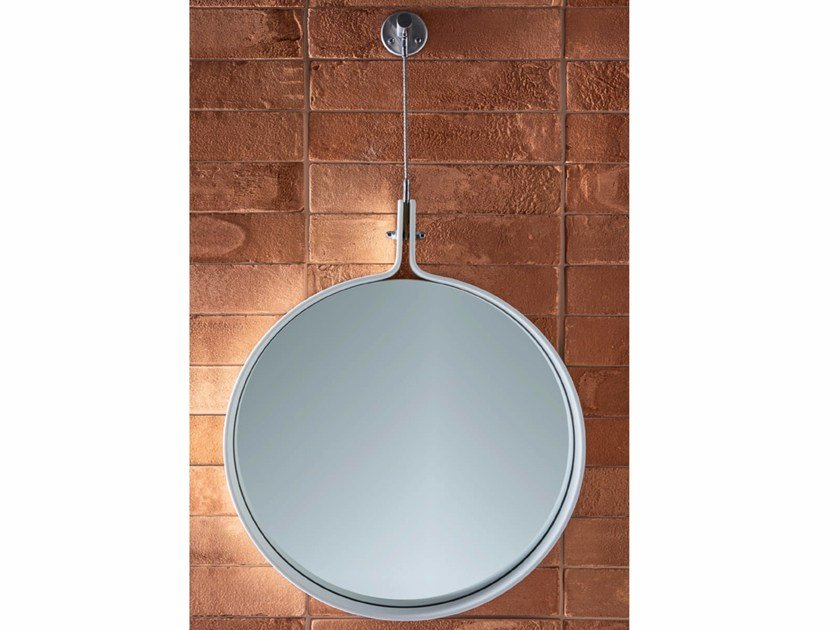 Round wall-mounted mirror HAMMAM | Mirror by Rexa Design
