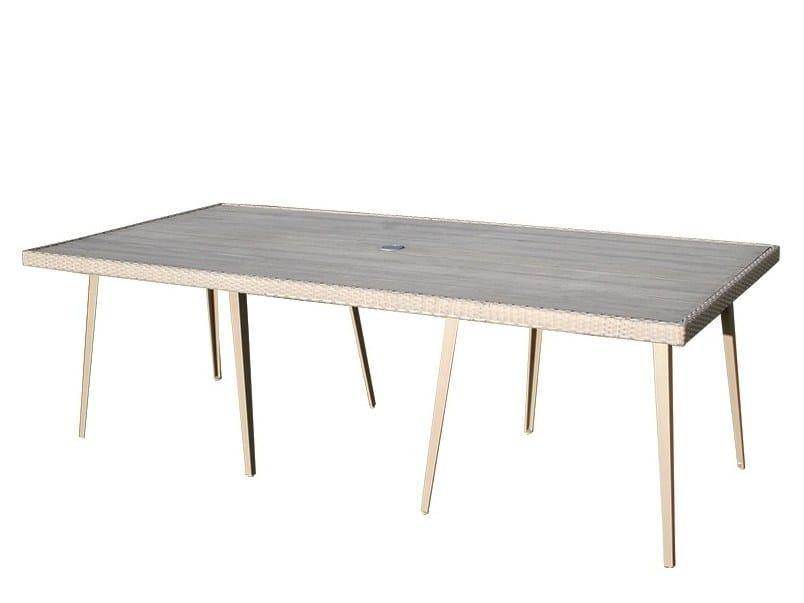 HAMPSTEAD | Mesa rectangular By Bridgman