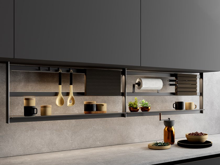 Sottopensile da cucina sospeso HANG by Damiano Latini