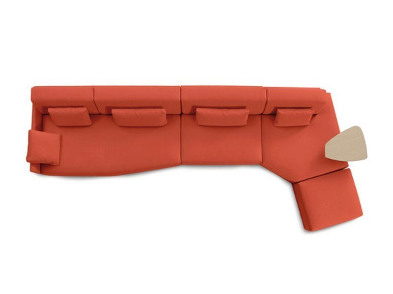 Sectional fabric sofa HAPPEN | Corner sofa by Sancal