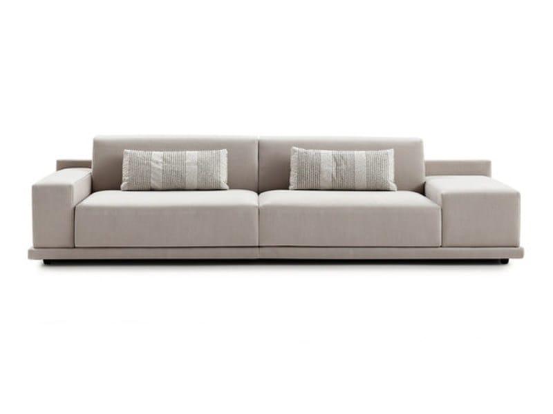 Sectional fabric sofa HAPPEN   Fabric sofa by Sancal