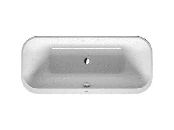 Vasca Da Bagno Duravit : Vasca da bagno rettangolare in acrilico da incasso happy d.2 vasca