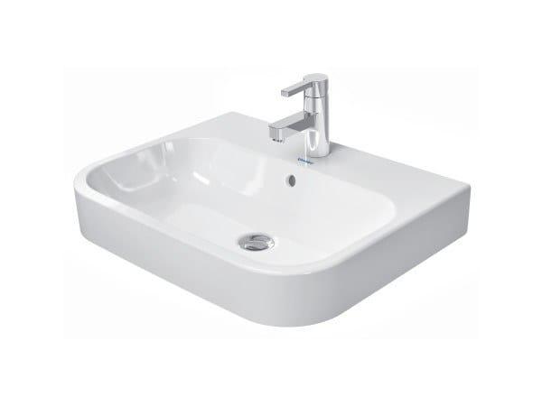 Countertop ceramic washbasin HAPPY D.2   Countertop washbasin by Duravit