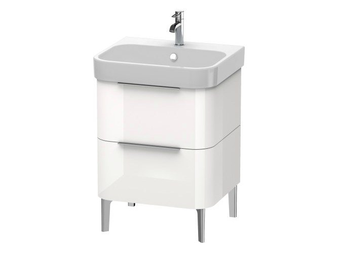 Floor-standing vanity unit with drawers HAPPY D.2 | Floor-standing vanity unit by Duravit
