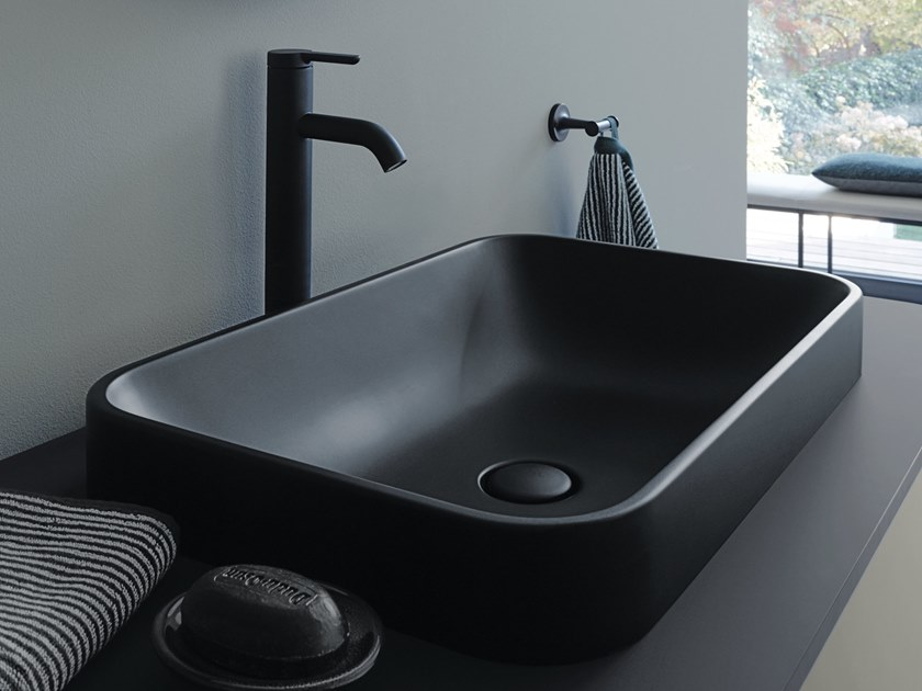 HAPPY D.2 PLUS | Rectangular washbasin By Duravit design Sieger Design