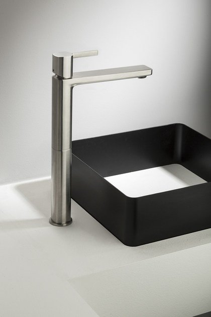 Exposed single lever basin mixer HAPTIC | Single lever basin mixer by RITMONIO