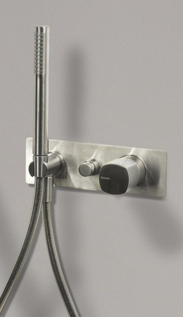 Built-in bath mixer with handle without lever HAPTIC | Single lever bath mixer by RITMONIO