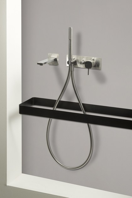 Built-in bath mixer with handle with lever HAPTIC   Single lever bath mixer by RITMONIO