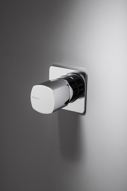 Built-in shower mixer with handle without lever HAPTIC | Single lever shower mixer by RITMONIO