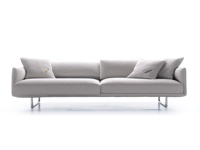 Recliner sofa with electric motion HARA by MDF Italia