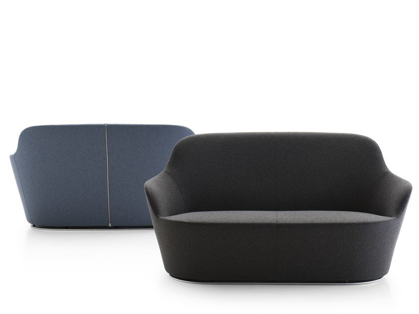 2 seater fabric sofa HARBOR | Sofa by B&B Italia