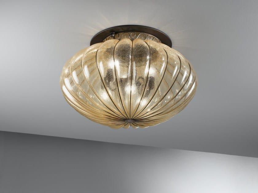 Plafoniera Moderna Vetro Murano : Lampadario plafoniera moderna soffitto luci bagno oro cristallo