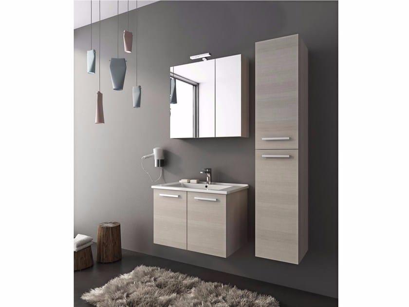 Mobile lavabo sospeso con ante HARLEM H7 By LEGNOBAGNO