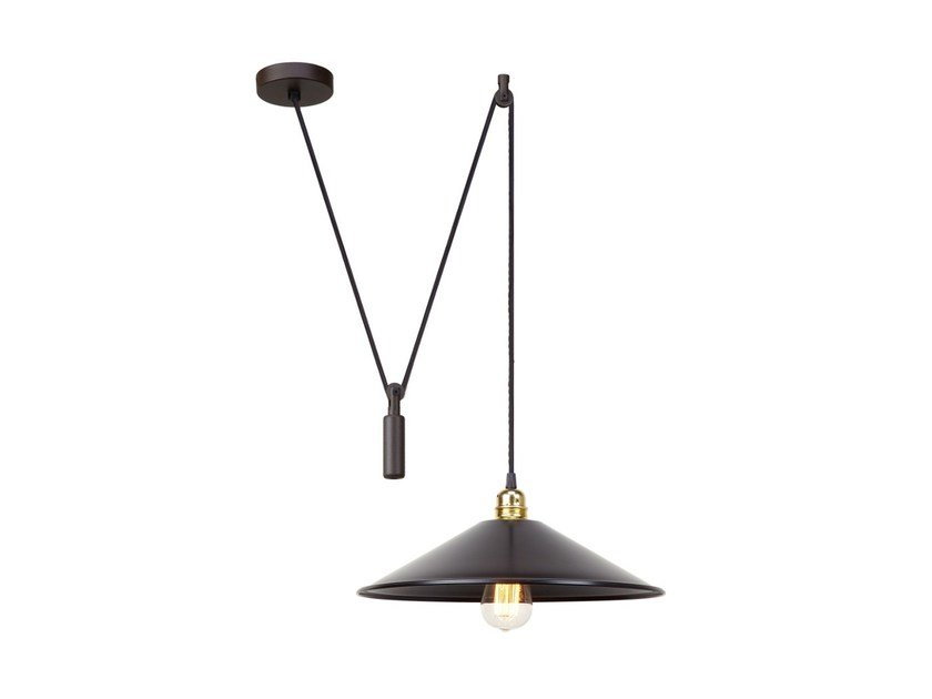 Pendant lamp HARLEM PULLEY by luxcambra