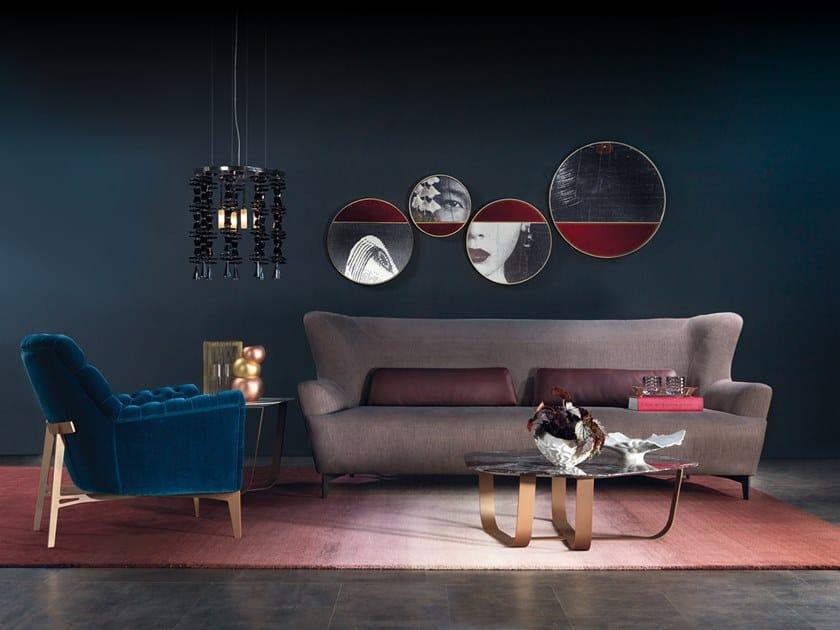 Sectional fabric sofa HARMONY | Fabric sofa by Borzalino
